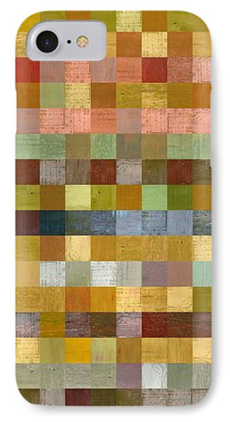 Soft Palette Rustic Wood Series Collage Ll Phone Case by Michelle Calkins