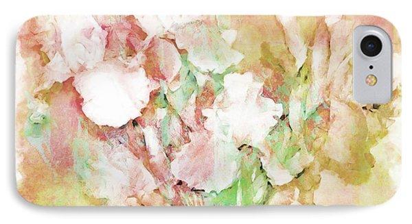 Soft Pink Iris Photo Art Phone Case by Debbie Portwood
