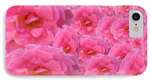 Soft Pink Roses IPhone Case by Tina M Wenger