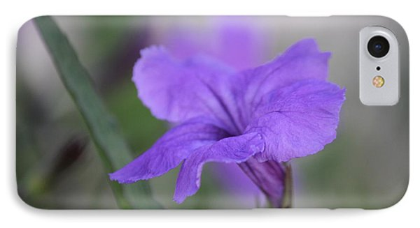 IPhone Case featuring the photograph Soft Purple Floral by Penny Meyers