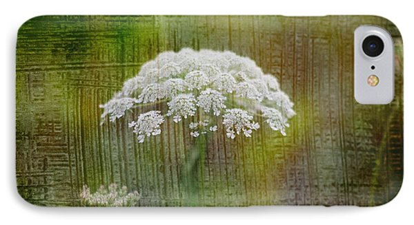 Soft Summer Rain And Queen Annes Lace Phone Case by Suzanne Powers