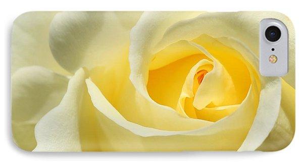 Soft Yellow Rose Phone Case by Sabrina L Ryan
