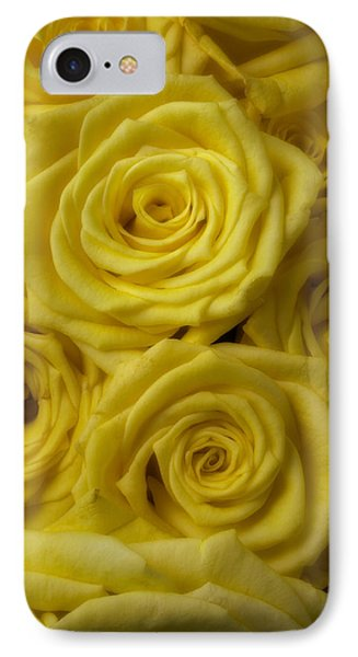 Soft Yellow Roses IPhone Case