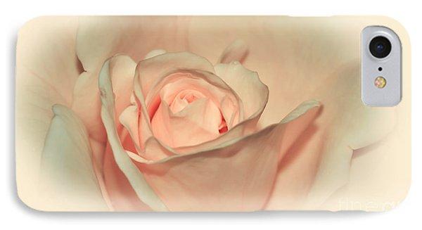 Softly Peach Phone Case by Kaye Menner