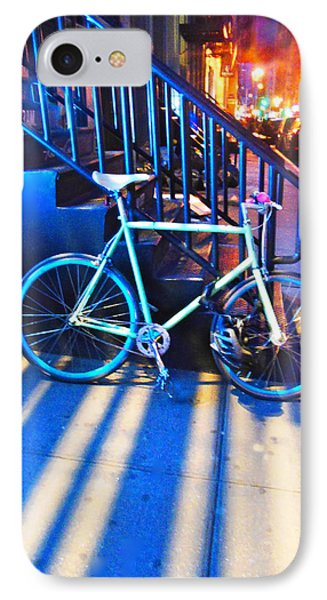 IPhone Case featuring the photograph Soho Bicycle  by Joan Reese