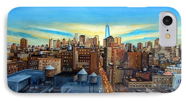 Soho Rooftops IPhone Case