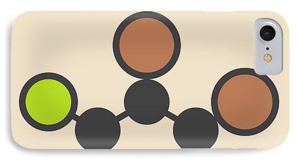 Soil Fumigant Molecule IPhone Case by Molekuul