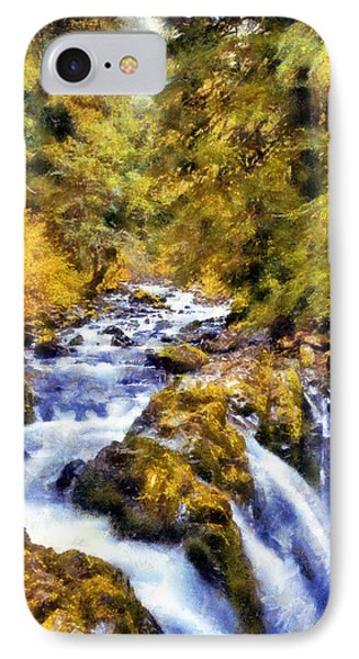 Sol Duc Falls IPhone Case by Kaylee Mason