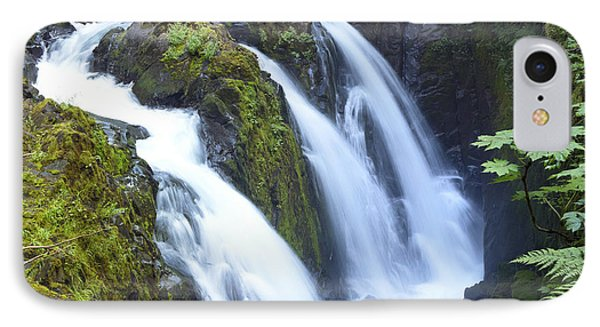 Sol Duc Waterfalls In Olympic National Park IPhone Case by King Wu