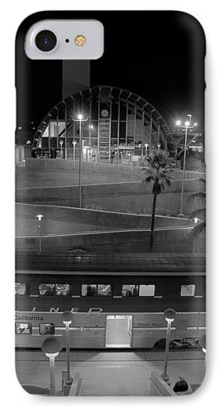 Solana Beach Train Station IPhone Case