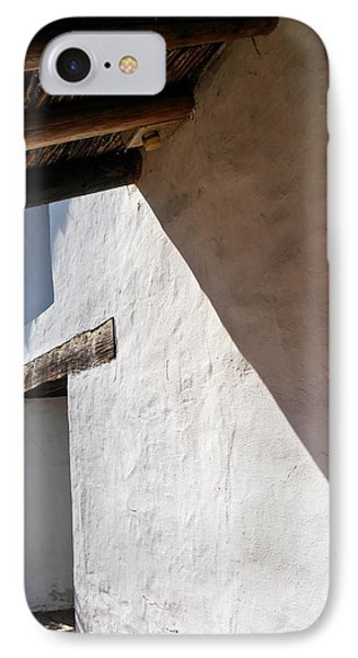 Solano Mission Doorway IPhone Case by Michele Myers