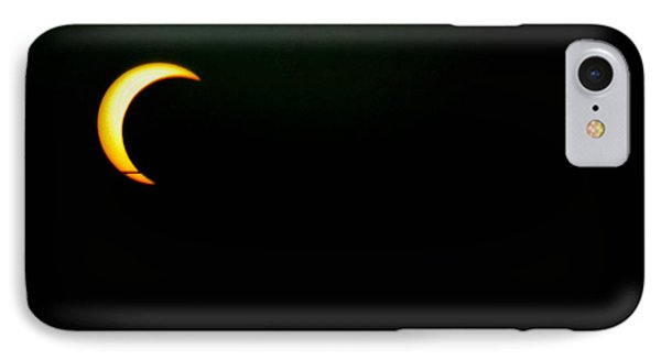Solar Eclipse 2012 IPhone Case by Angela J Wright