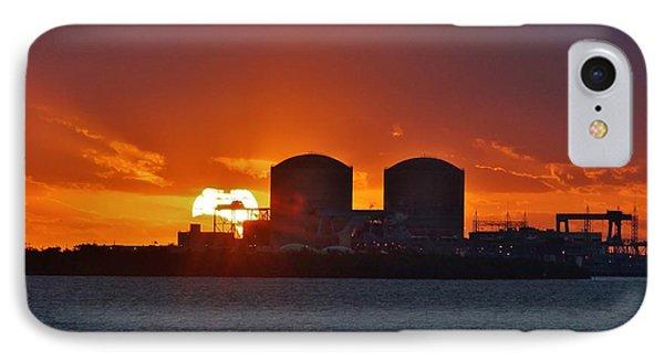 Solar Power Reduction IPhone Case by Lynda Dawson-Youngclaus