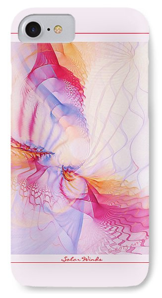 Solar Winds Phone Case by Gayle Odsather