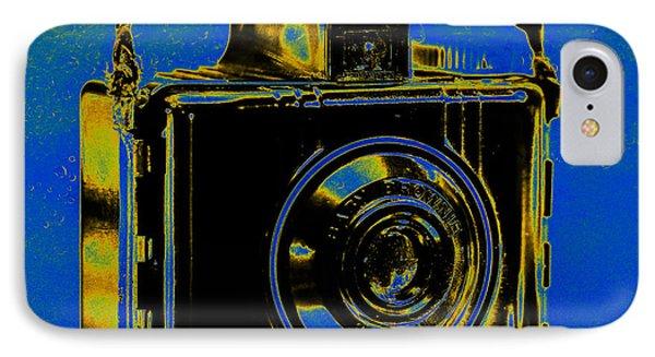 Solarized Brownie IPhone Case by Jon Woodhams