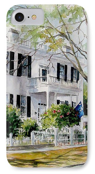 Sold Lafayette House IPhone Case by Gloria Turner