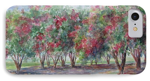 Sold Southern Crepe Myrtles IPhone Case by Gloria Turner