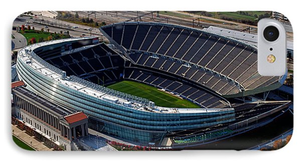 Soldier Field Chicago Sports 06 IPhone Case by Thomas Woolworth
