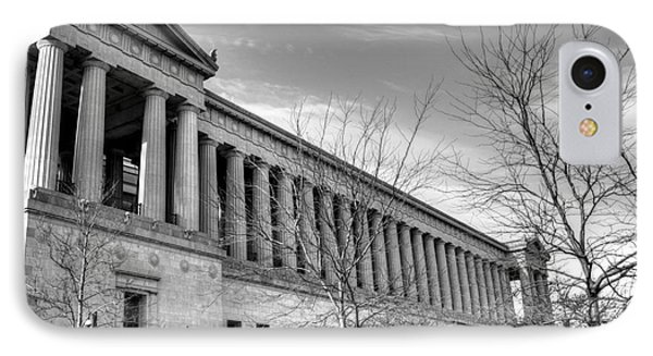 Soldier Field In Black And White IPhone 7 Case