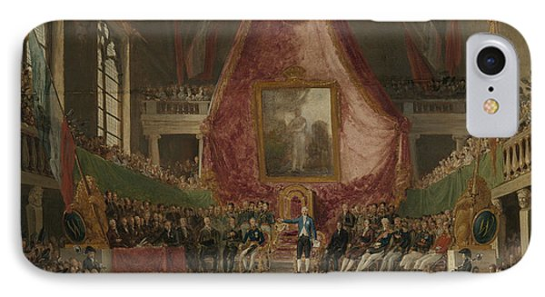 Solemn Inauguration Of Ghent University By The Prince IPhone Case