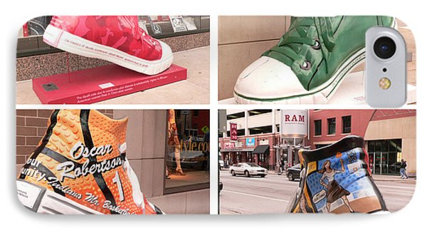 Soles Of Indianapolis IPhone Case by David Bearden