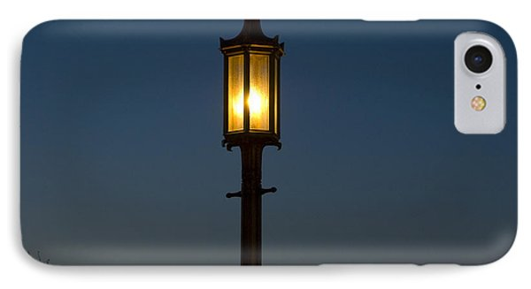 Solitary Gas Light Phone Case by Tim Mulina
