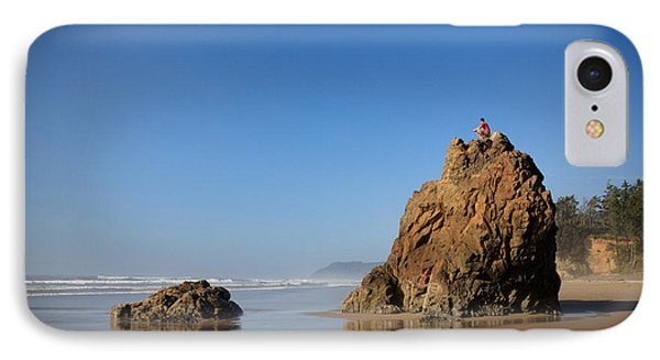 Solitary Ocean View IPhone Case