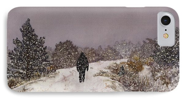 Solitude IPhone Case by Anne Gifford