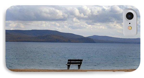 Solitude At Lake Khuvsgul IPhone Case by Diane Height