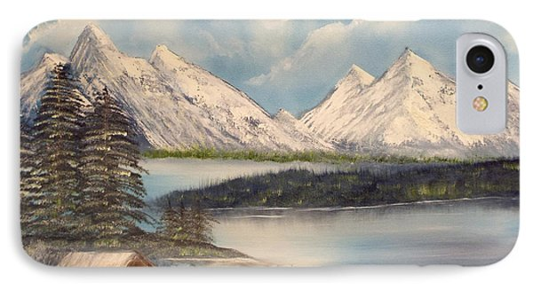 Solitude At The Lake Phone Case by Joyce Krenson