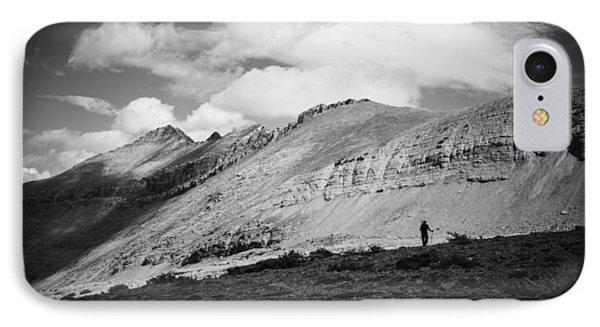 Solitude Below Sperry Glacier IPhone Case