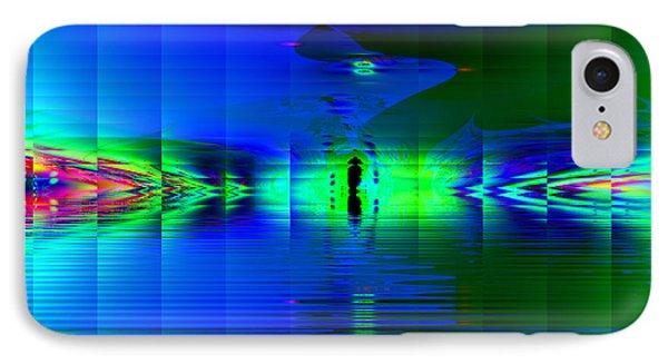 IPhone Case featuring the digital art Solitude by Hai Pham