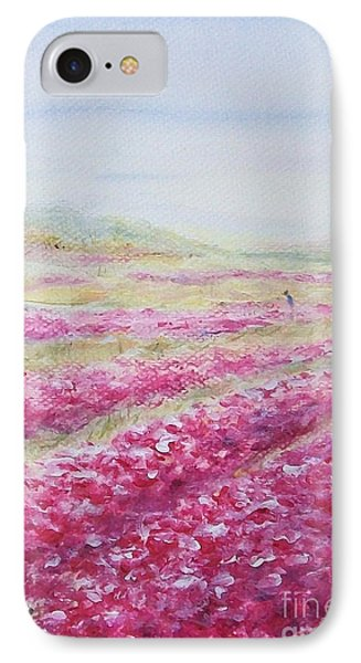 IPhone Case featuring the painting Solitude by Jane  See