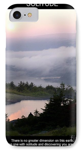 Solitude IPhone Case by Mary Lou Chmura