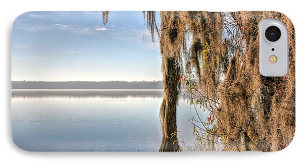 Solitude On Lake Jackson  IPhone Case by JC Findley
