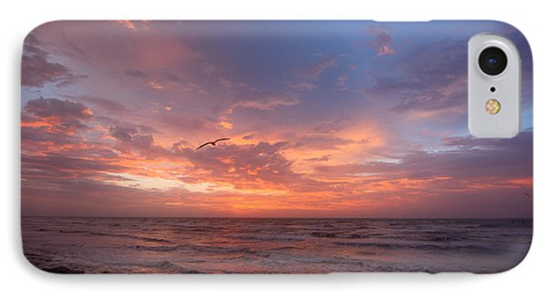 IPhone Case featuring the photograph Solo Flight At Dawn by Susan D Moody