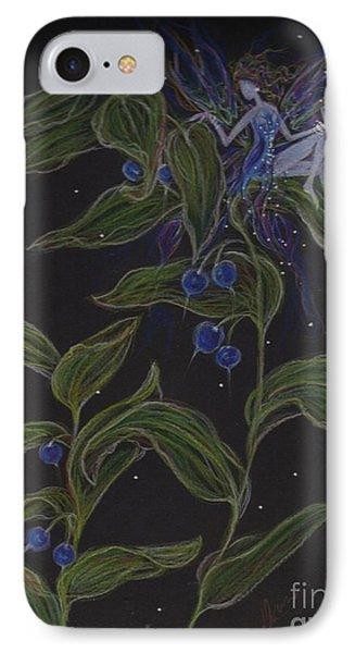 IPhone Case featuring the drawing Solomon's Seal by Dawn Fairies
