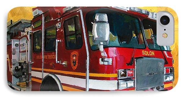 Solon Fire Engine IPhone Case