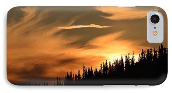 Solstice On Hurricane Hill IPhone Case by Ronda Broatch