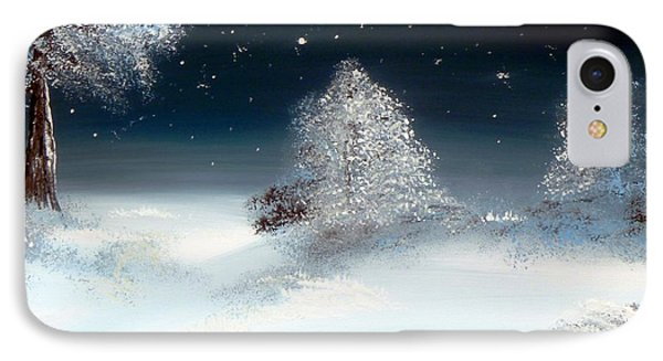 Solstice Snowfall I Phone Case by Alys Caviness-Gober