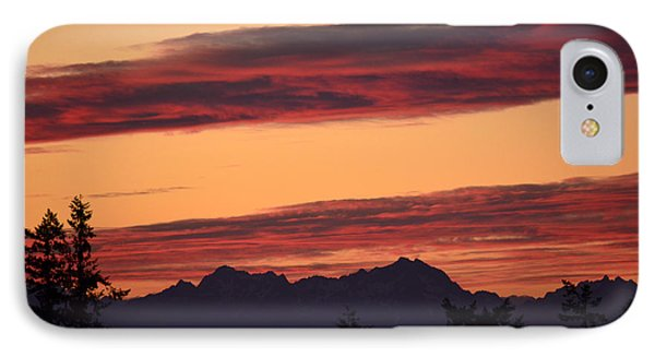Solstice Sunset I IPhone Case by Gayle Swigart