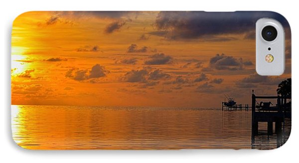 Sombrero Beach Sunrise IPhone Case by Pamela Blizzard