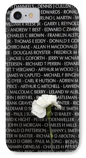 Some Gave All - Vietnam Veterans Memorial IPhone Case by Edward Fielding