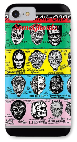 IPhone Case featuring the digital art Some Ghouls by Sasha Alexandre Keen