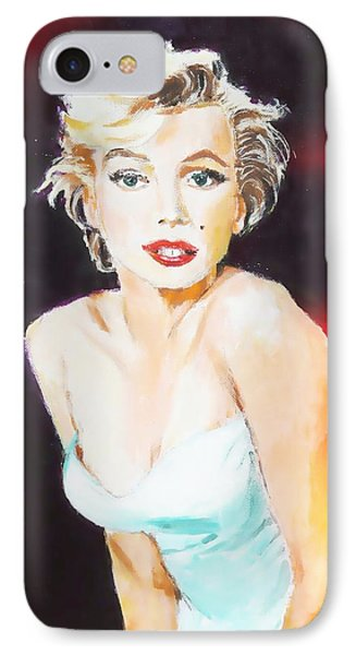 IPhone Case featuring the painting Some Like It Red Hot by Judy Kay