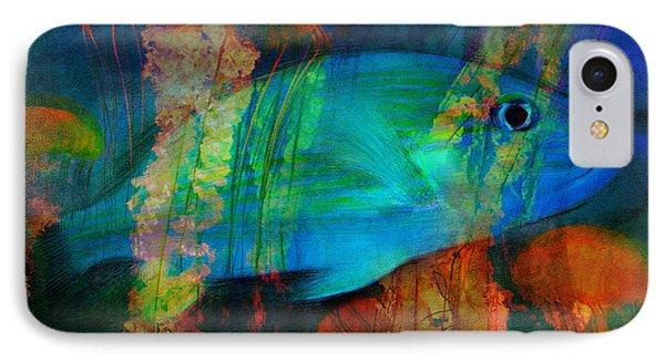 Something Fishy IPhone Case by Erika Weber