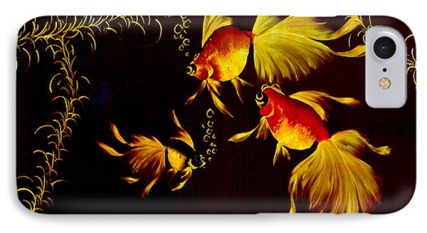 Something Is Fishy Here Phone Case by Al Bourassa