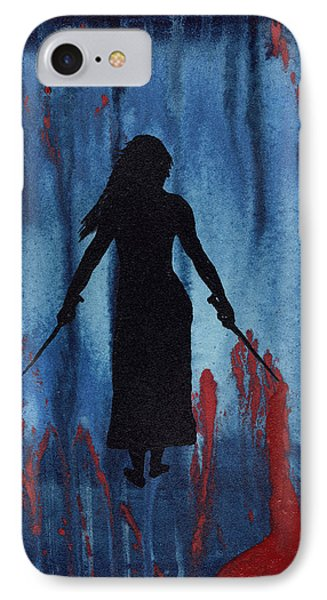 Something Wicked This Way Comes Phone Case by Jim Stark