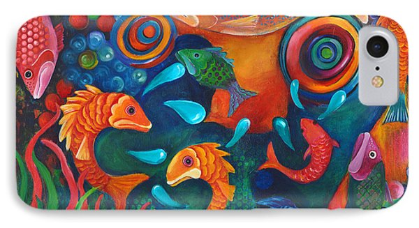 Something's Fishy Phone Case by Debbie McCulley