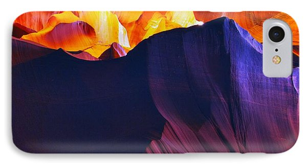 IPhone Case featuring the photograph Somewhere In America Series - Antelope Canyon by Lilia D